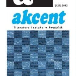 Promocja najnowszego numeru kwartalnika literackiego AKCENT