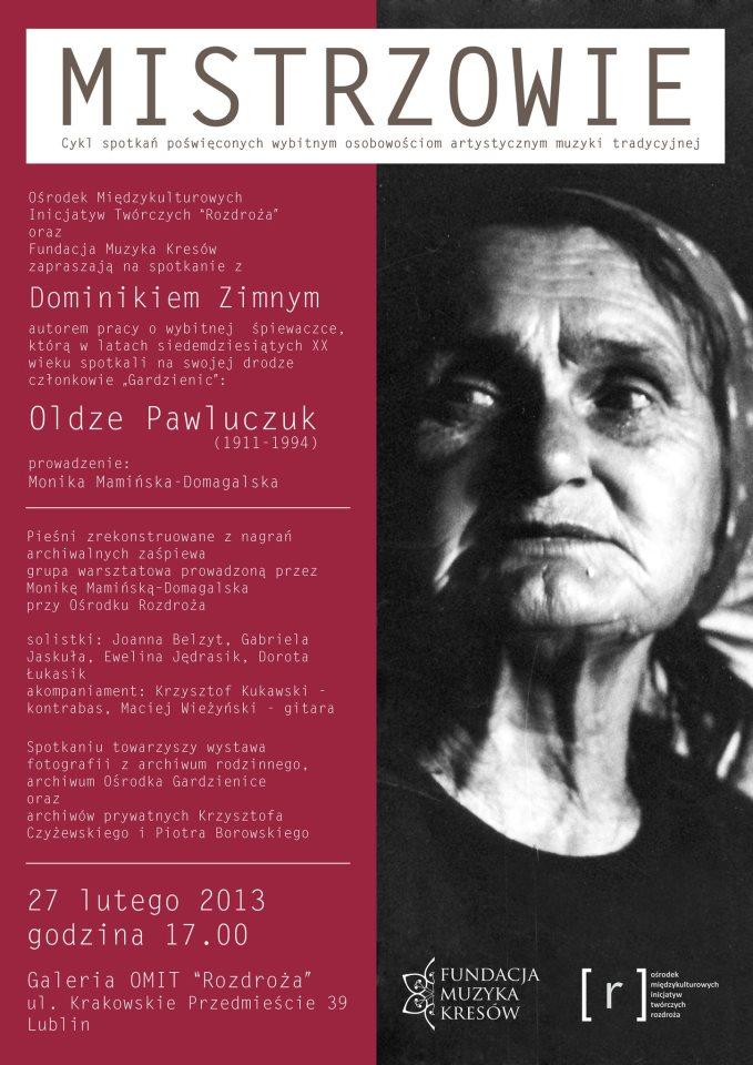 MISTRZOWIE: Olga Pawluczuk