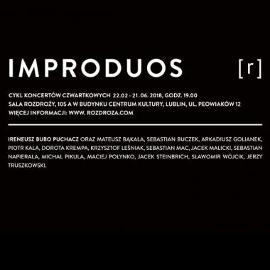 Zapraszamy na pierwszy koncert w ramach projektu IMPRODUOS