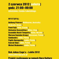 MUSICIRCUS Johna Cage'a