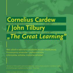 KODY 2013 – próby doTHE GREAT LEARNING Corneliusa Cardew