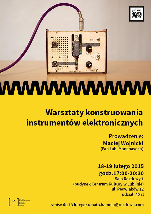 MSE: warsztaty konstruowania instrumentów elektronicznych
