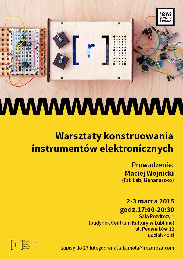 MSE: #2 warsztaty konstruowania instrumentów elektronicznych